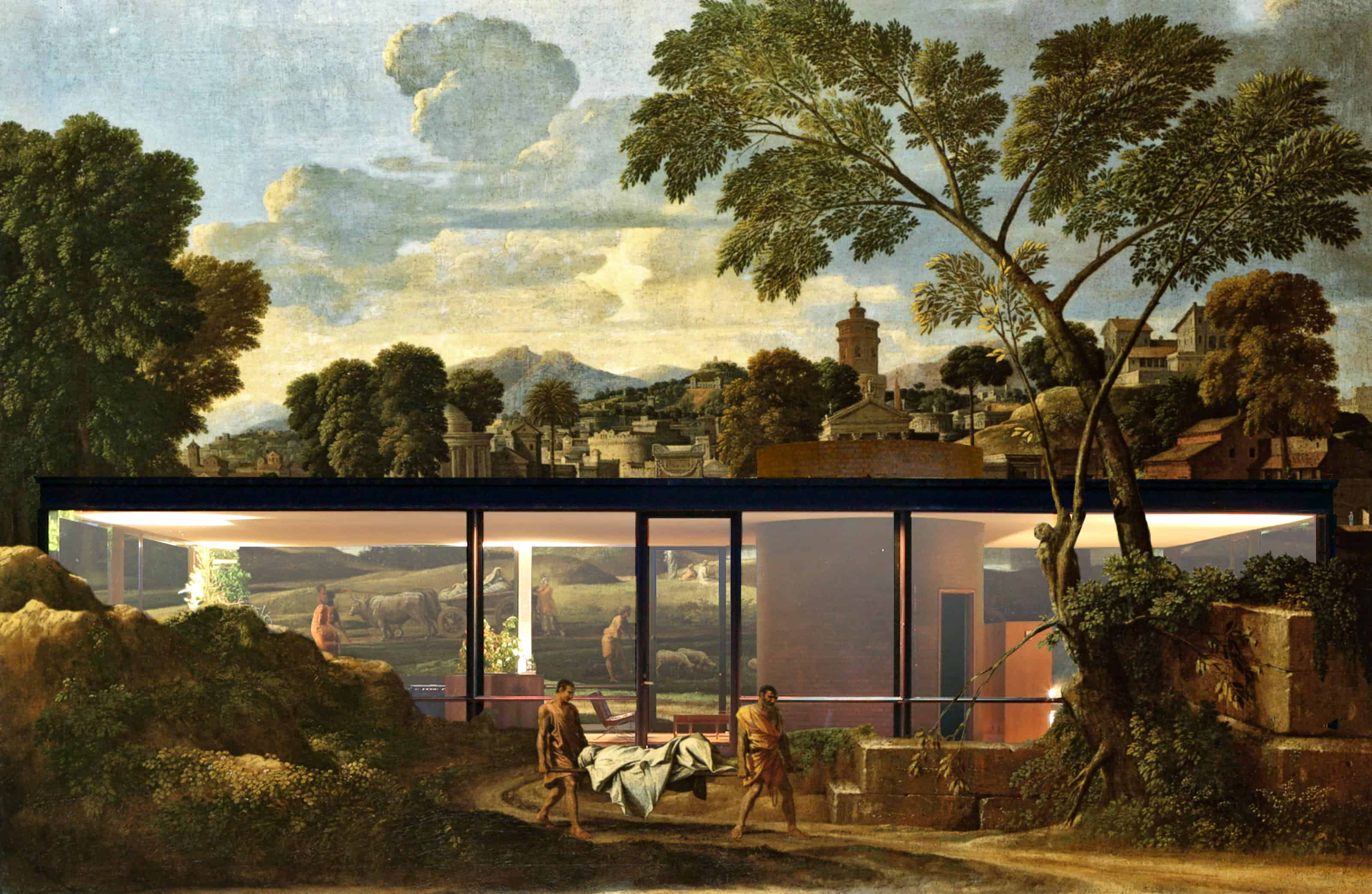 Philip Johnson Glass House inverted glass house – sam jacob studio